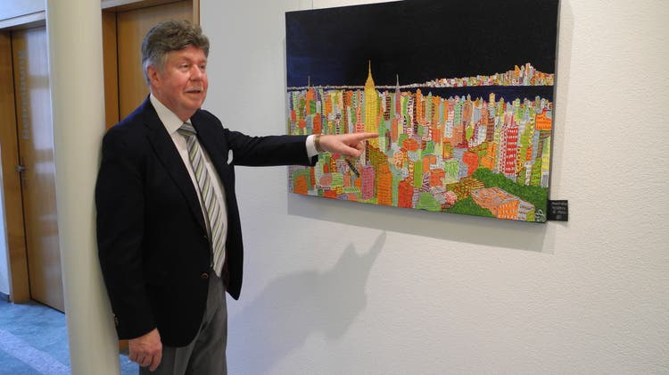 Das Gemeindehaus verwandelt sich zum letzten Mal in eine Galerie