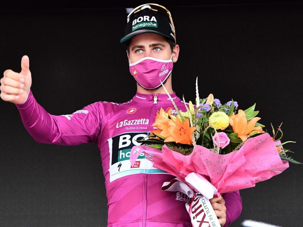 Peter Sagan muss sich statt mit dem Etappensieg mit der Führung im Punkteklassement begnügen