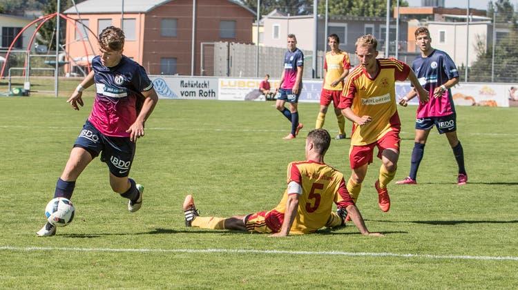 Der SC Schöftland verliert bei den Blue Stars 1:2
