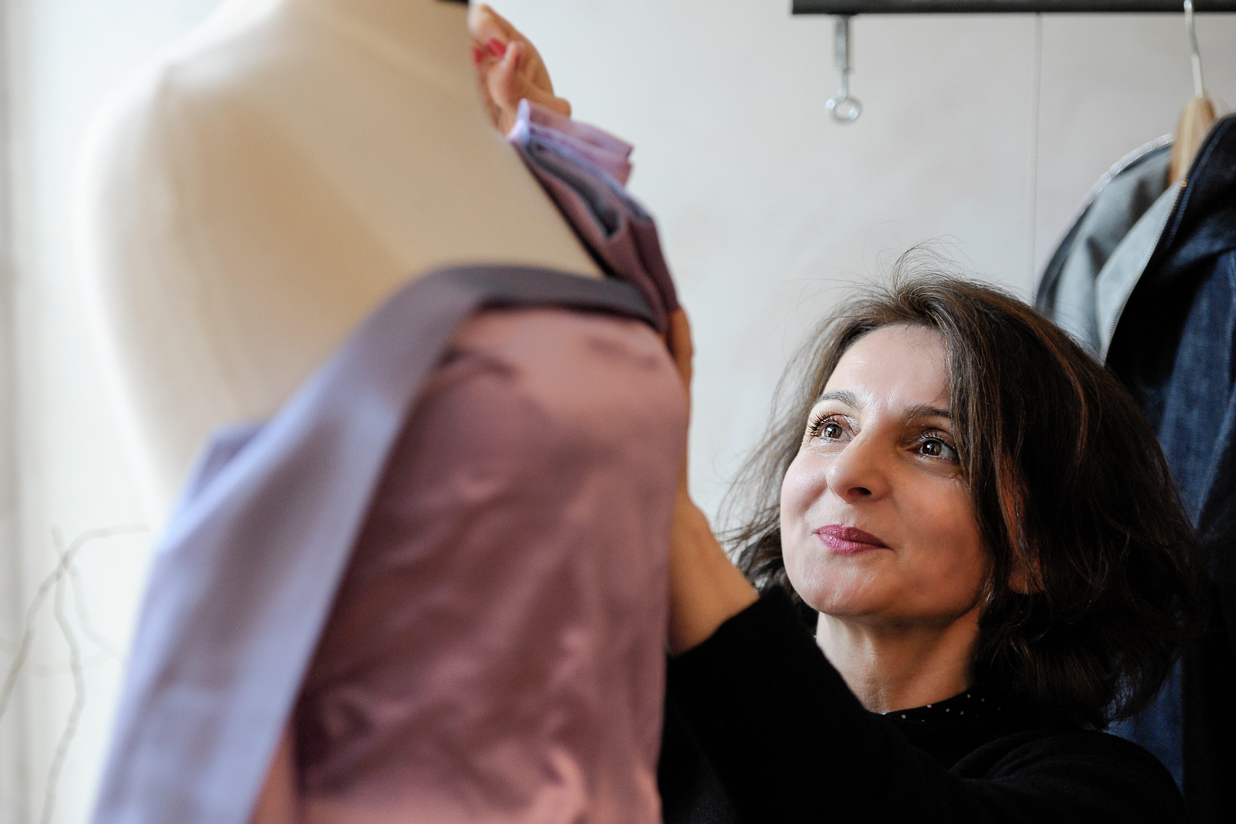 Gyzide Akbulut in ihrer Basler Atelier-Boutique.
