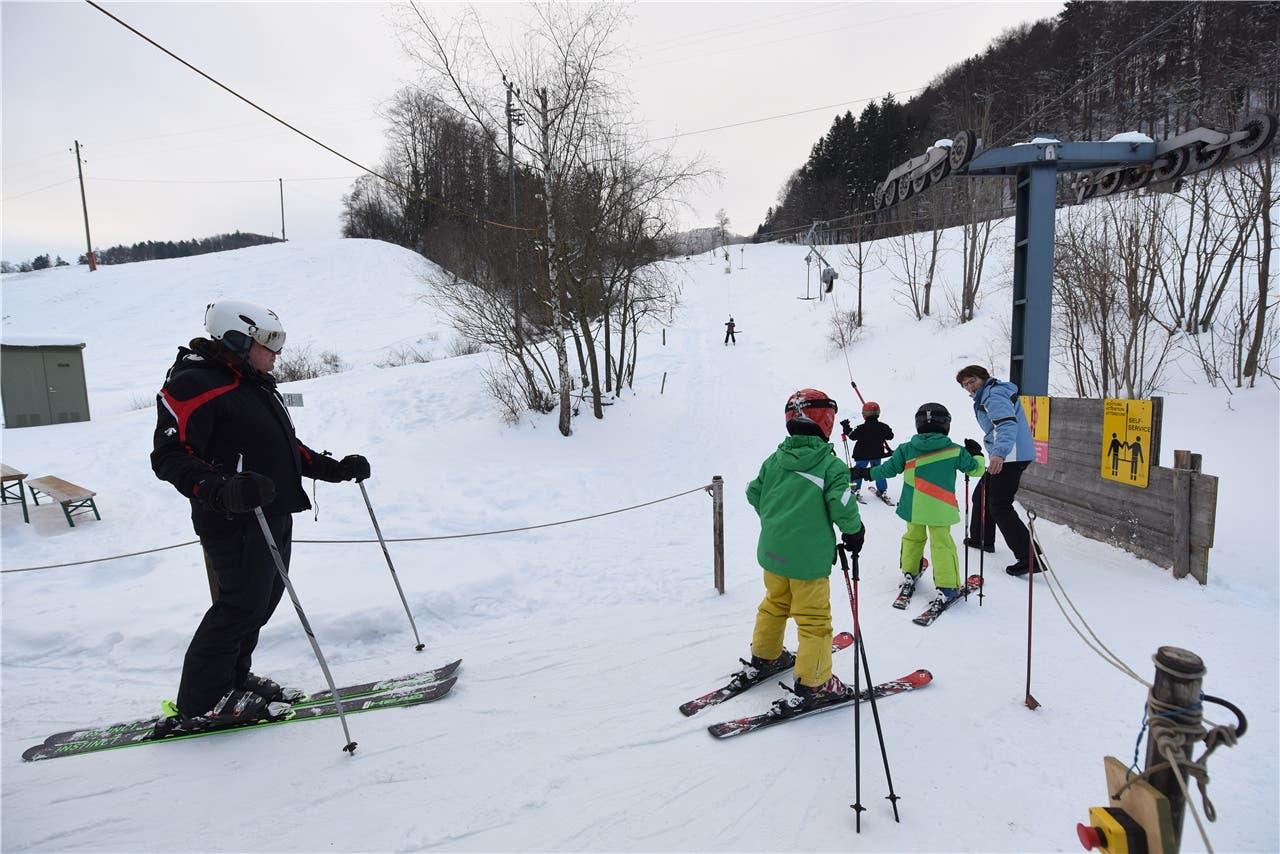 Wintersport im Baselbiet
