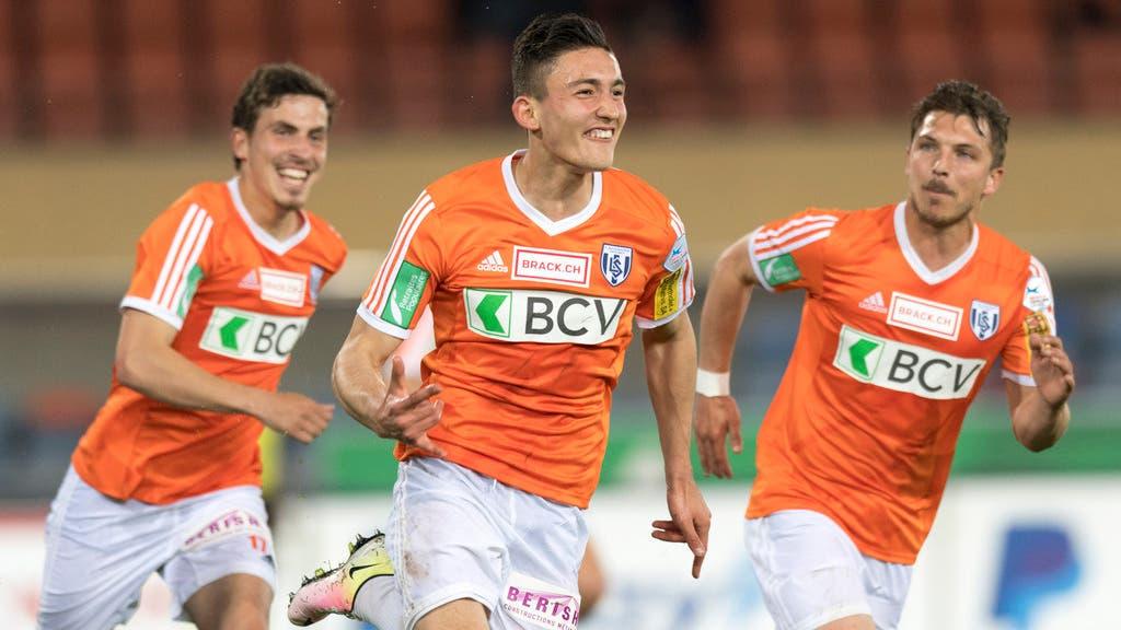 Andi Zeqiri erzielte das 1:0 für Lausanne-Sport.