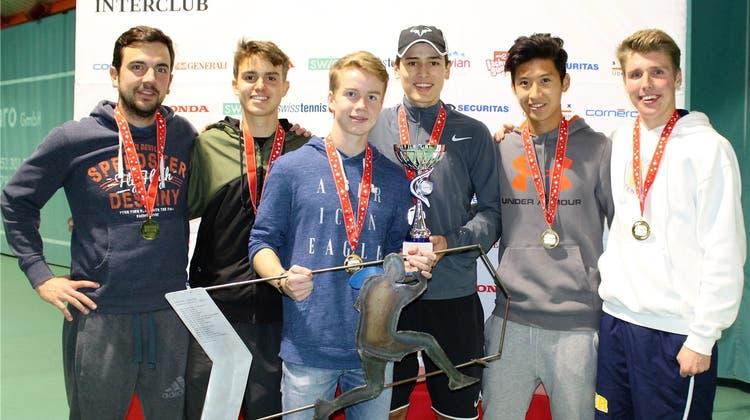 Wahre Asse: Die Badener Junioren holen den Schweizer-Meister-Titel