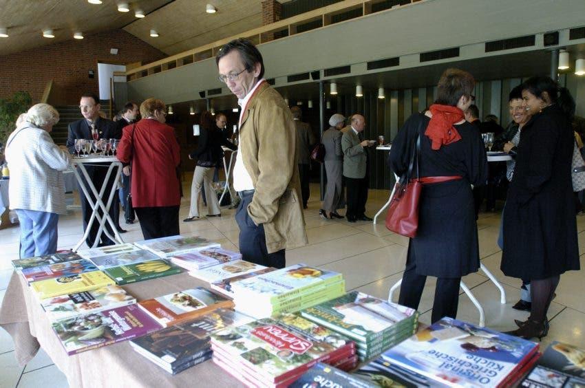 Verleihung der Literaturpreise Schweizer Gold-und Silberlorbeeren 2005 und Kochbuch-Oscar Goldenes Lorbeerblatt.