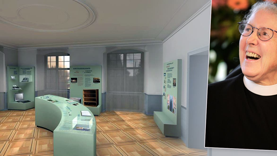 Silja-Walter-Raum im Kloster Fahr: So lebte die schreibende Nonne
