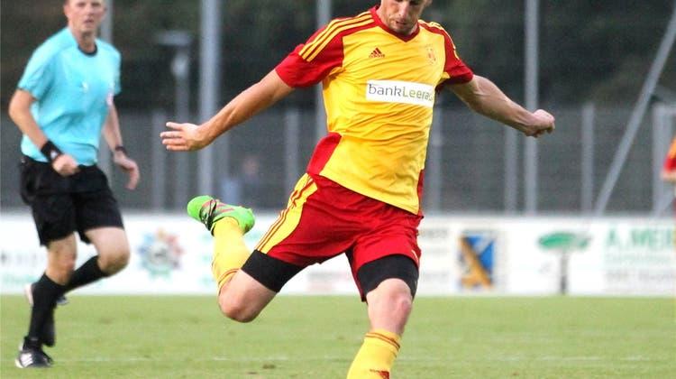 Miroslav Kral erzielt beim 4:2 -Sieg von Schöftland gleich drei Treffer