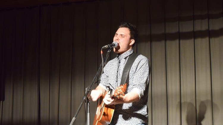 Nick Mellow in Staufen bevor seine Debut-Single erscheint