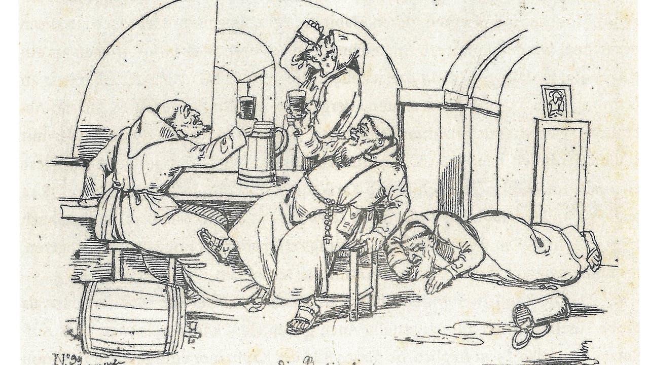 Karikaturisten im Dienst der Klostergegner