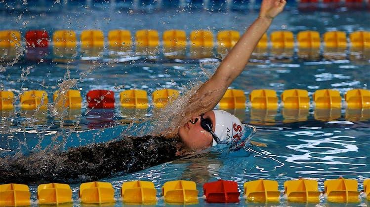 Rückenschwimmen ist die goldene Disziplin von Swim Regio Solothurn