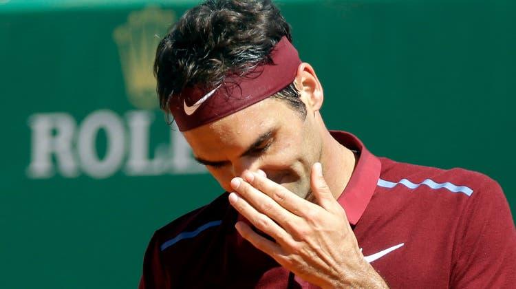 Out im Achtelfinal: Roger Federer scheitert an Ösi-Newcomer Thiem