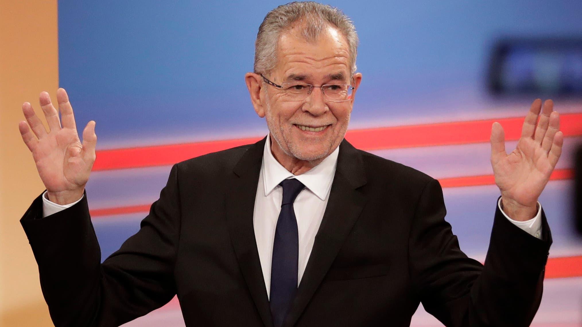 Wahl des Bundespräsidenten in Österreich: Alexander Van der Bellen gegen Norbert Hofer