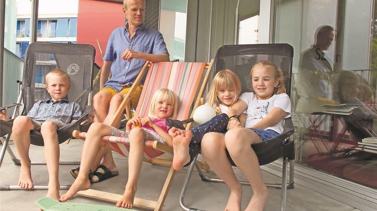 Drei Kinder sind das Minimum: Eine Stiftung hilft Grossfamilien, bezahlbaren Wohnraum zu finden