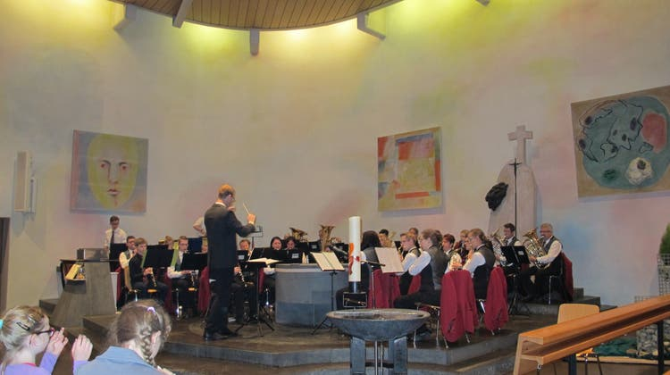 Kirchenkonzert der MG Oberentfelden