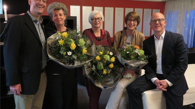 Tourismusverein ehrt die Oltner Stadtführerinnen