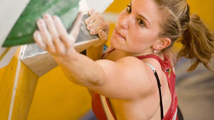 Petra Klingler in China im Halbfinal