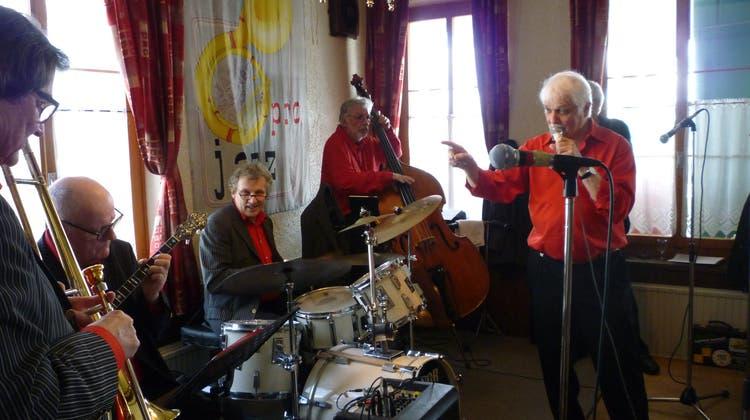 Swiss Dixie Stompers überzeugen an der Jazz-Matinee in der Schönegg