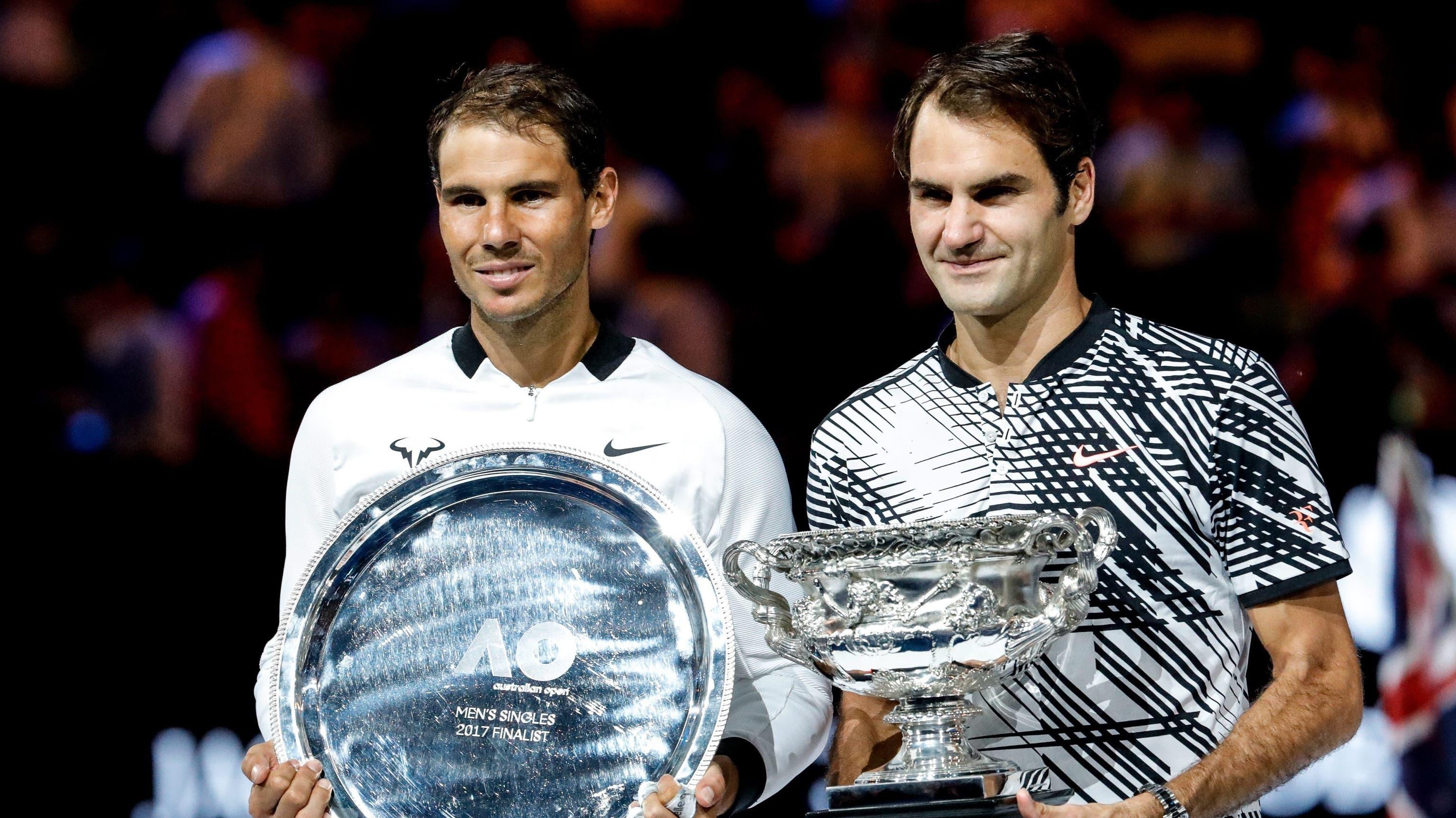 Roger Federer gewinnt gegen Rafael Nadal die Australian Open 2017