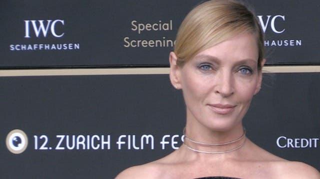 Überraschungsgast: US-Superstar Uma Thurman am Zürich Film Festival