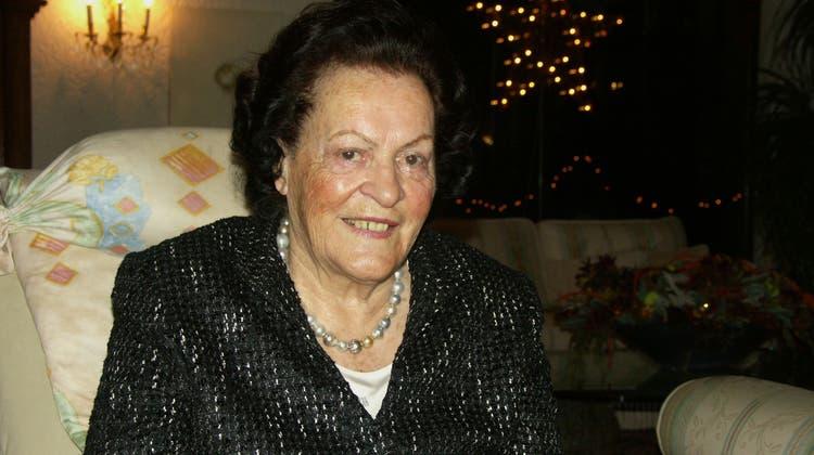Die Grande Dame aus dem Limmattal ist abgetreten