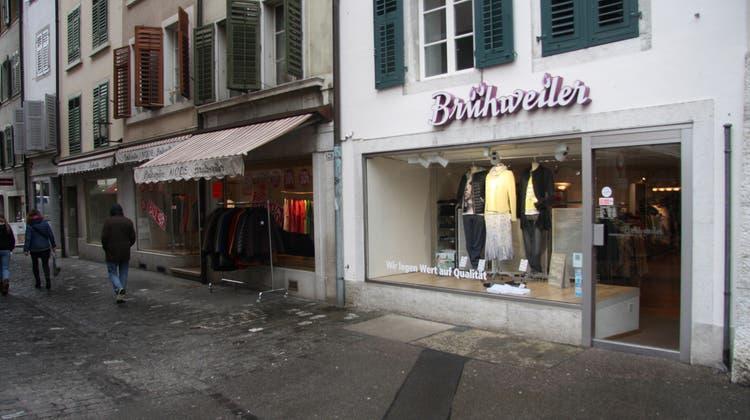 Modehaus Brühweiler geht zu – «es tut mir weh, dass ich aufhören muss»