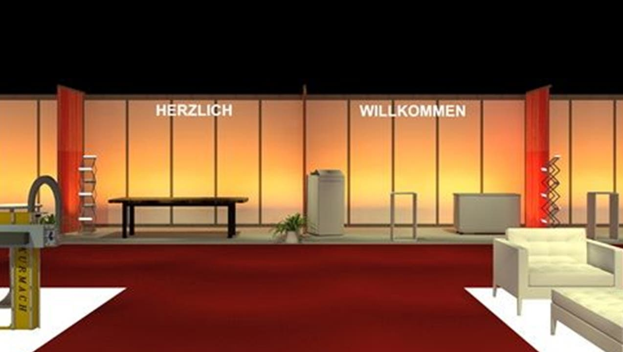 An der Expo Geissberg kommt komplett neues Lichtdesign zum Einsatz
