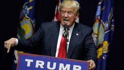Geschäftsmann Trump in der Defensive