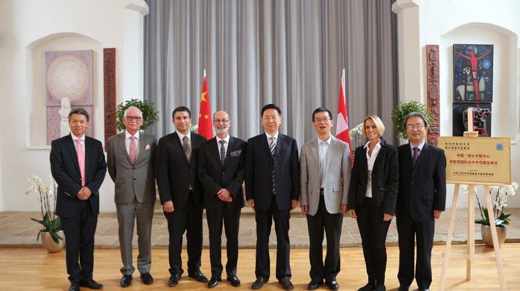Wichtige Geste: Das Zurzibiet bekam hohen Besuch aus China