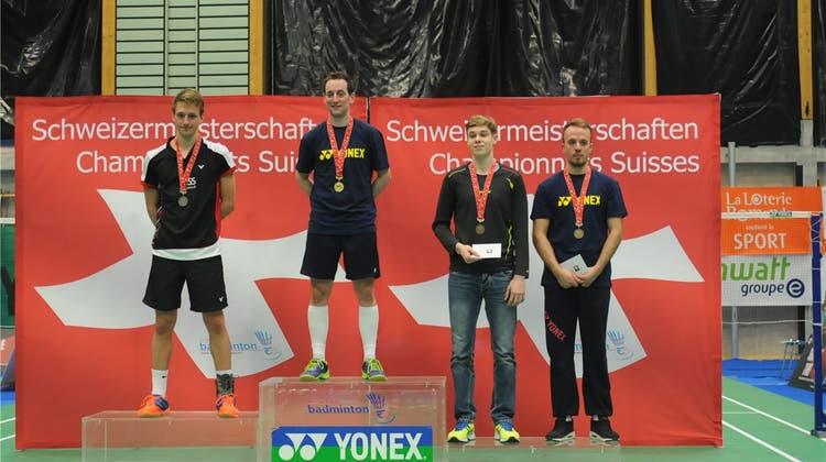 Hägendorfer ist immer noch der beste Schweizer Badminton-Spieler