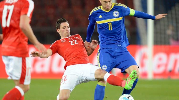 Die Schweiz enttäuscht erneut und unterliegt Bosnien-Herzegowina mit 0:2