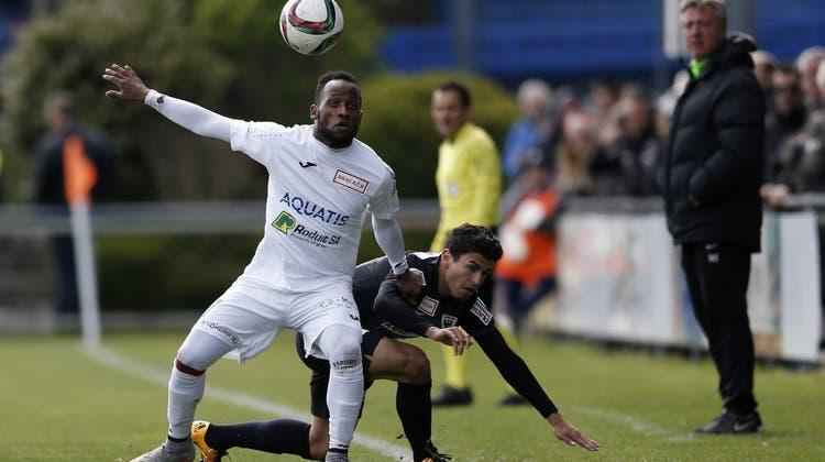 Aarau rettet sich mit einem Mann weniger ein 1:1 gegen Le Mont