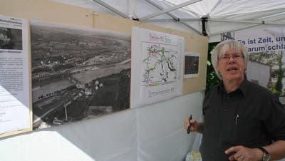 Neue Idee für den Rheinufer-Rundweg: Eine Aussichts-Plattform für die Strompioniere