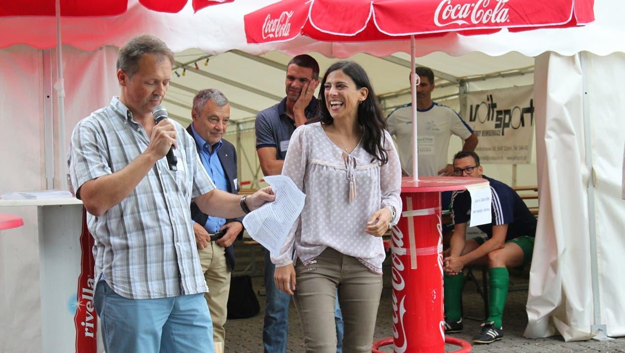 Frisch gekürte Präsidentin des FC Uitikon: «Ich wollte eigentlich in die Sportmedizin»