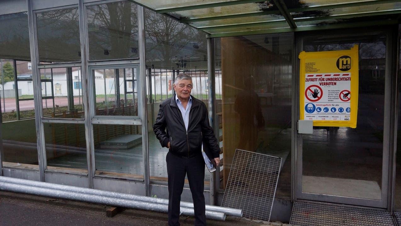 Alte Turnhalle wird rückgebaut – Entsorgung der Asbest-Plättli macht Abriss teurer