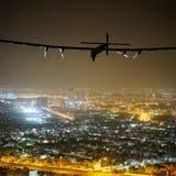Die Solar Impulse ist nach ihrer Weltumrundung zurück in Dübendorf