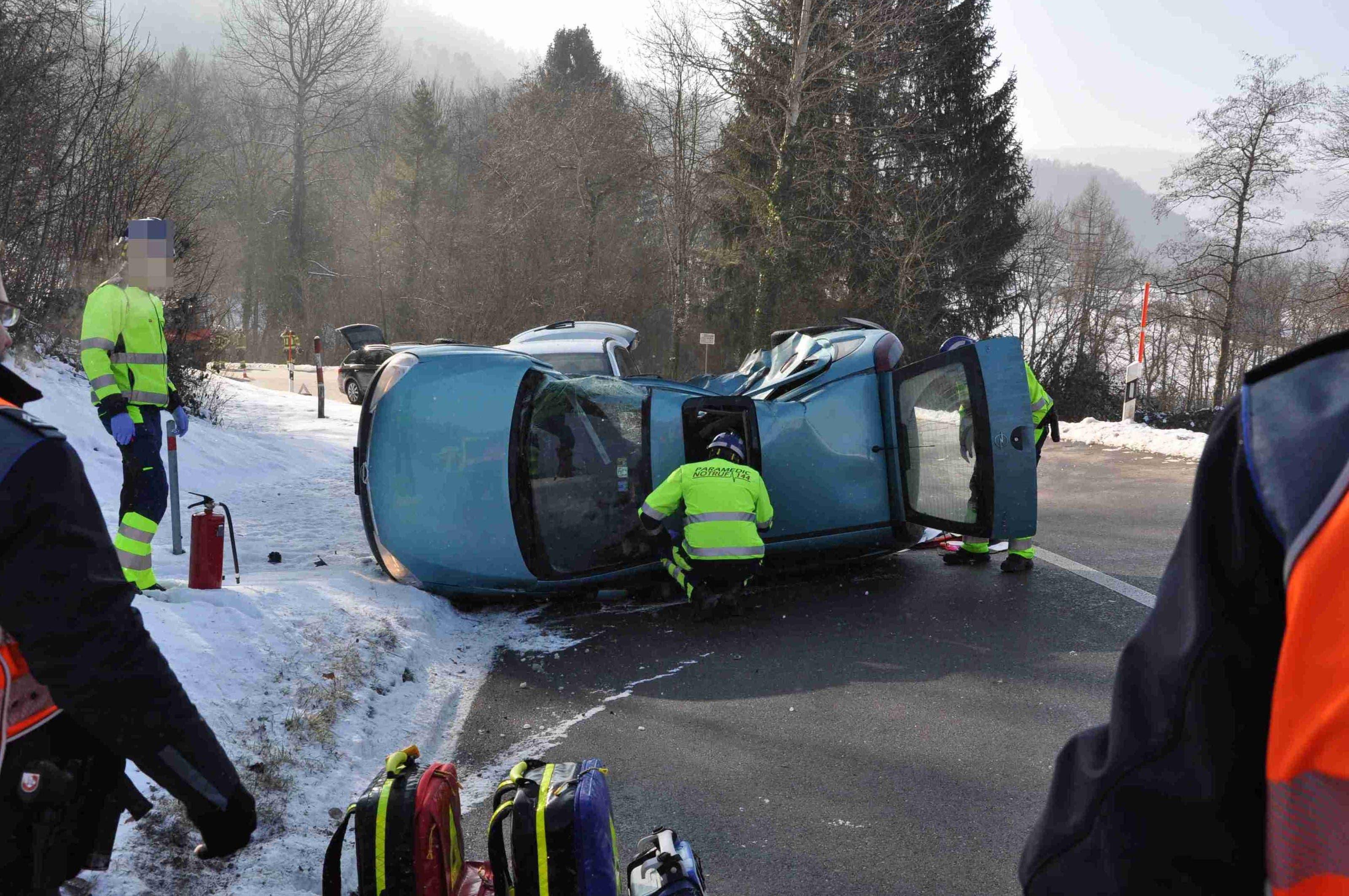 Tödlicher Unfall auf der Fehrenstrasse in Büsserach