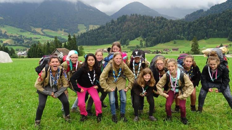 Pfadi St. Urs Solothurn suchte nach Dracheneiern