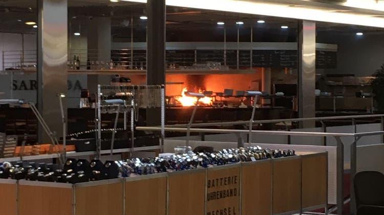 Brand im Wagi-Shopping: Einkaufszentrum wurde vorübergehend evakuiert