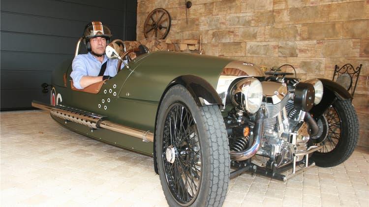 Der «Threewheeler» bietet Oldtimer-Spass auf drei Rädern