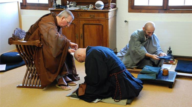 Eine ungewöhnliche Mönchsweihe