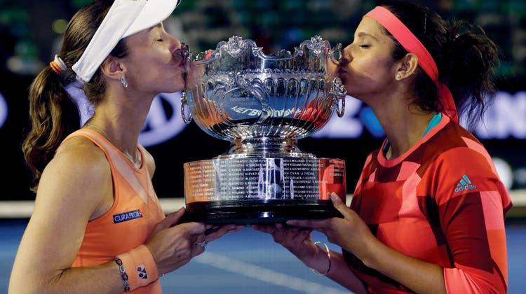 Grand-Slam-Hattrick für Martina Hingis
