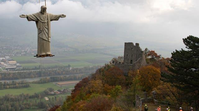 Cristo zieht um: Ein falscher Brasilianer fliegt nach Pfäfers