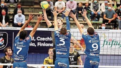 Für Volley Amriswil geht der Traum von der Champions League weiter