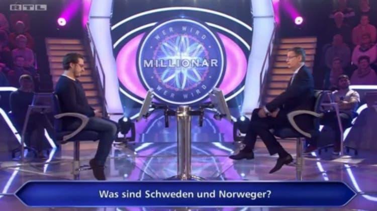 Kreative «Wer-wird-Millionär»-Frage – da ist sogar Günther Jauch baff