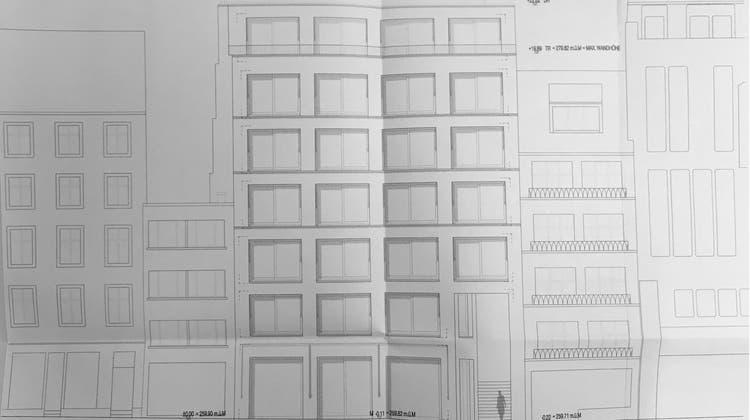 Das neue Hotel in der Steinenvorstadt wird ein symmetrischer Block