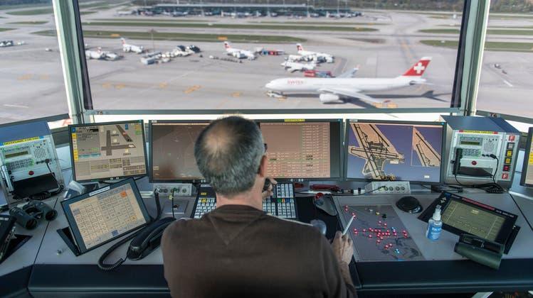 Flugsicherungsunternehmen Skyguide kontrolliert 1,8 Prozent mehr Flüge