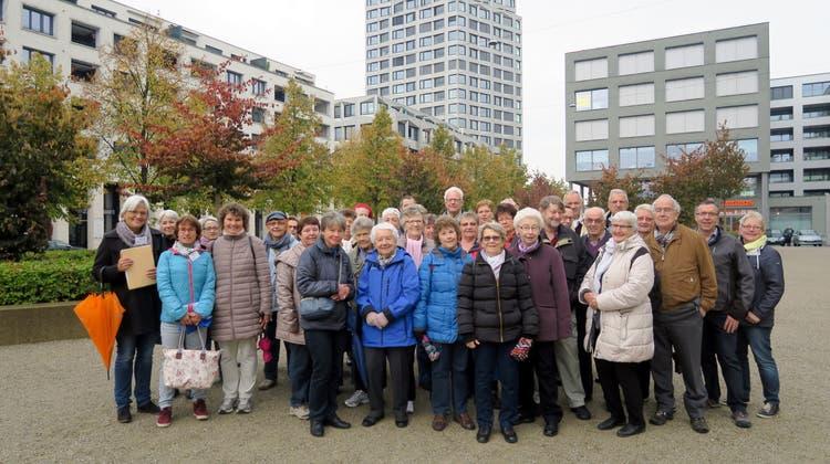 Besuch des Limmatfeldes mit dem Stadtverein