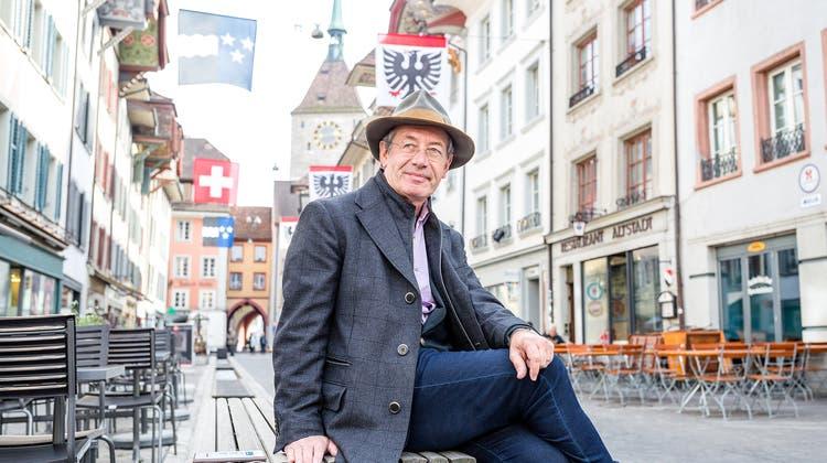 Warum Schauspieler Robert Hunger-Bühler nach über 40 Jahren nach Aarau zurückkehrt