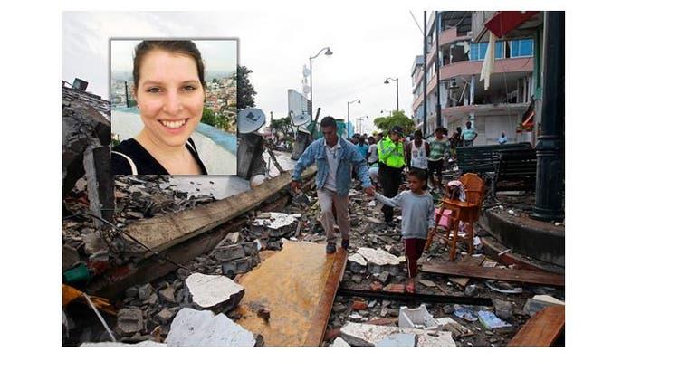 Aargauerin in Ecuador: «Wir sassen im Bus, als die Erde anfing zu beben»
