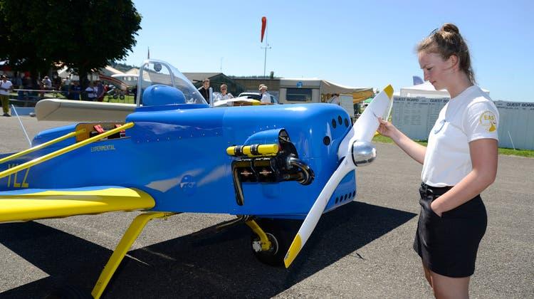 Flugzeuge Marke Eigenbau: In Bleienbach trifft sich die Elite der «Do it yourself»-Piloten