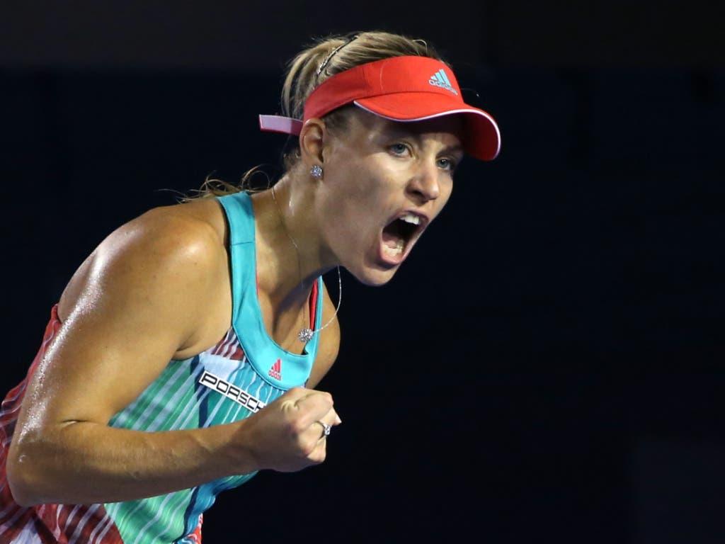 Australian Open Final 2016: Kerber schlägt Favoritin Williams